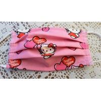 Pralna maska otroška Hello Kitty dvoslojna