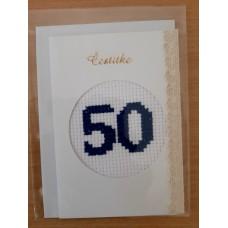 Čestitka 50